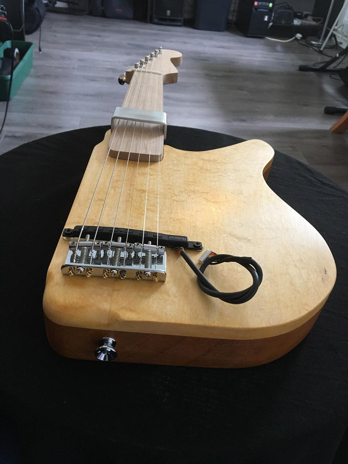 John Kelly's adapted instrument, image courtesy of John Kelly