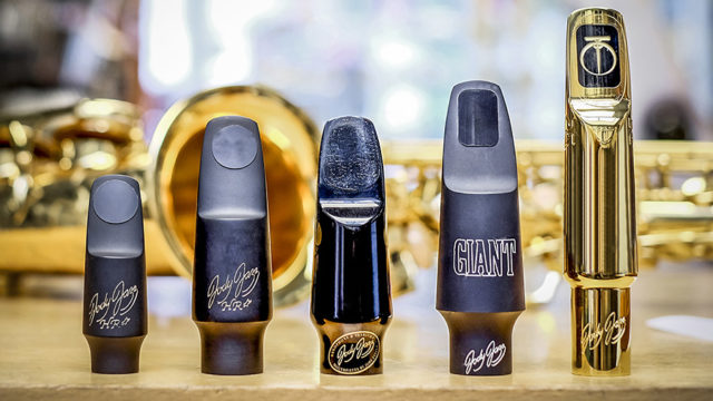 Images of mouthpieces for woodwind instruments