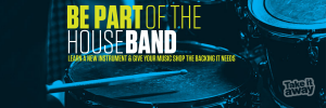 Be part of the house band
