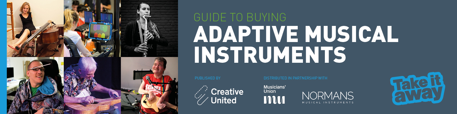 Adaptive Musical Instruments Guide cover image text