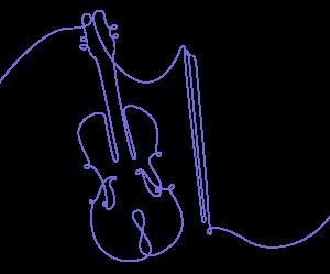 Violin + bow