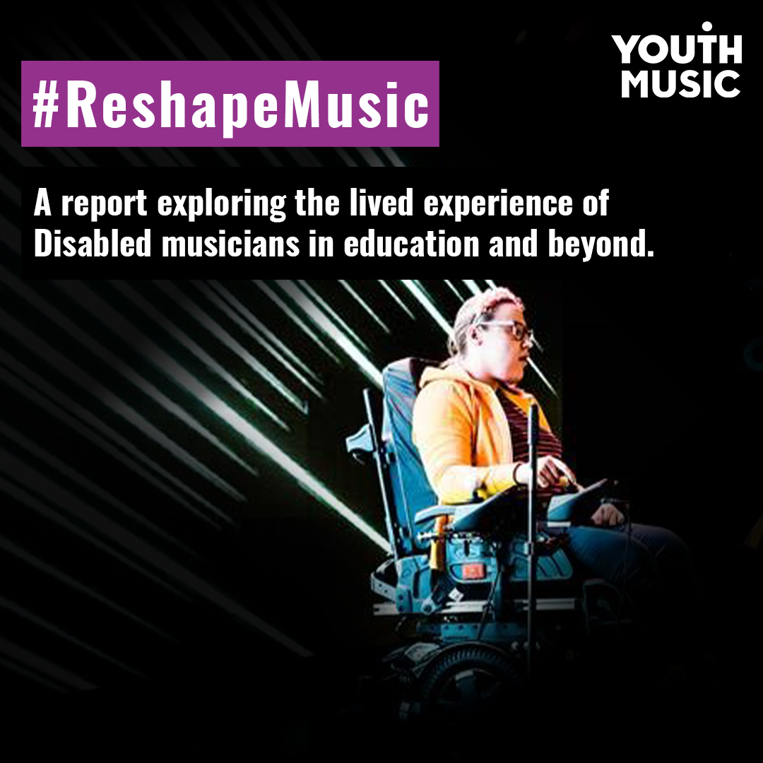 A report exploring the lived experience of disabled musicians in education and beyond