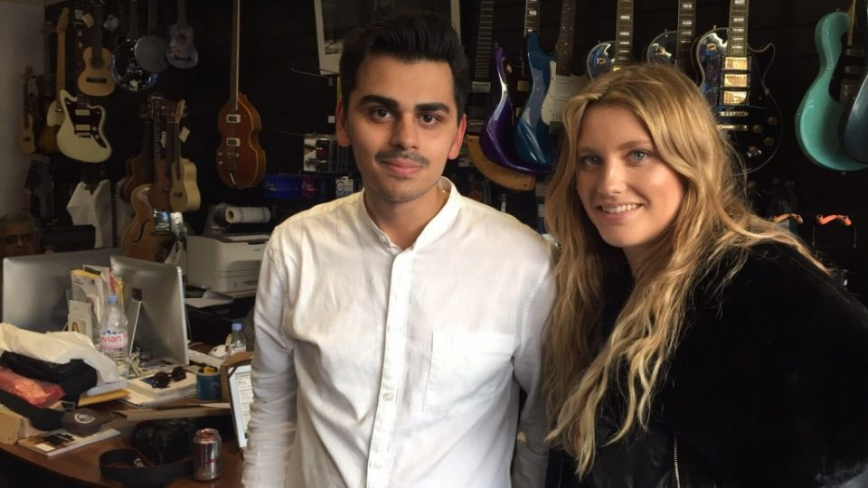 Christian and Ella Henderson