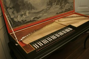 Photo of a Clavichord
