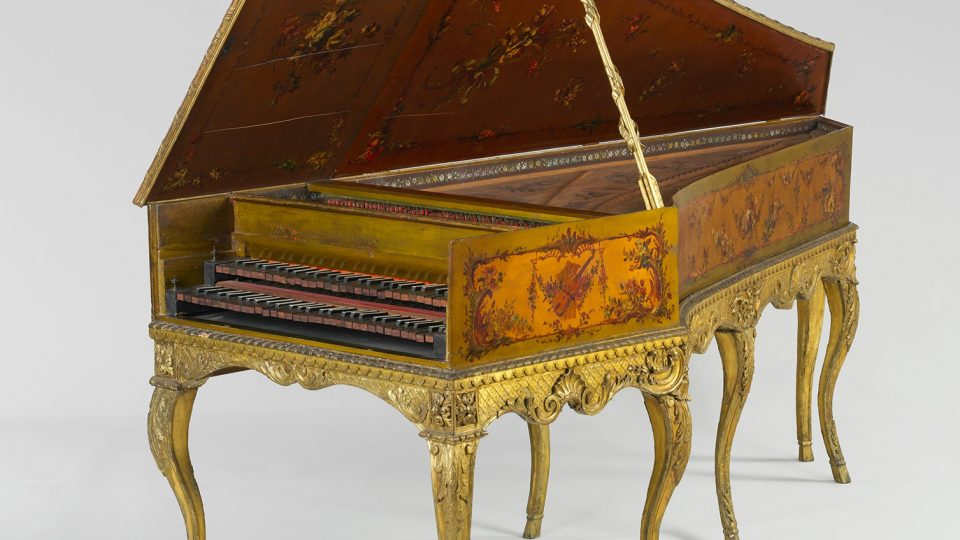 Photo of a Harpsichord