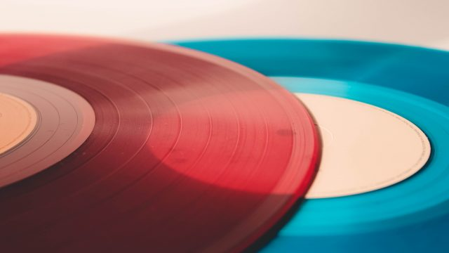 Red and blue record