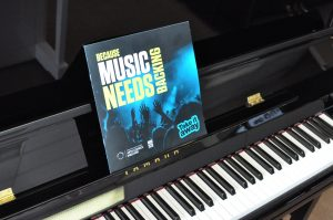Piano - Take it away Because music needs backing