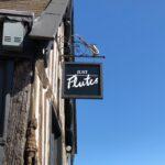Just Flutes shop front sign