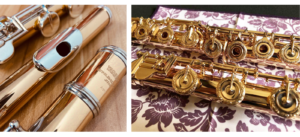 Gold flute
