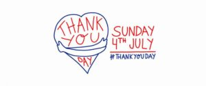 Thank you day - sunday 4th july